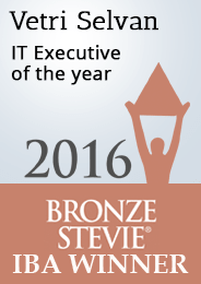 Vetri IT executive of the year